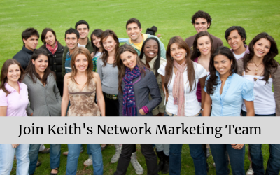 Join Keith's Network Marketing Team Header Image